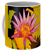Blooming Lotus Flower Coffee Mug