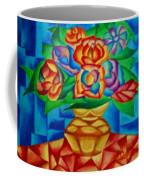 Blooms In Blue Coffee Mug