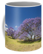 Blossoming Jacaranda Coffee Mug