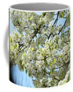 Blossoms Whtie Tree Blossoms 29 Nature Art Prints Spring Art Coffee Mug