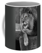 Blow You A Kiss  Black And White  T O C Coffee Mug