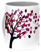 Blowing Blossoms Coffee Mug