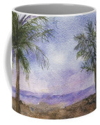 Blowing By The Ocean Coffee Mug