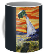 Blown Away From Red Skies Coffee Mug