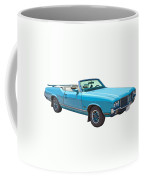 Blue 1971 Oldsmobile Cutlass Supreme Convertible Coffee Mug