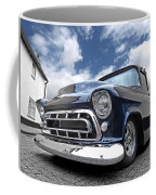 Blue 57 Stepside Chevy Coffee Mug