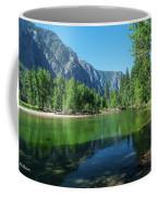 Blue And Green River Coffee Mug