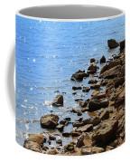 Blue And Tan Coffee Mug