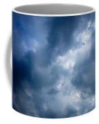 Blue And White Cloud Formations Coffee Mug