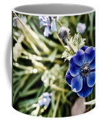 Blue Anemone Coffee Mug