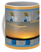 Blue Angels At Sunset Coffee Mug