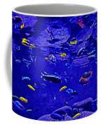 Blue Aquarium Coffee Mug