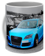 Blue Audi Coffee Mug