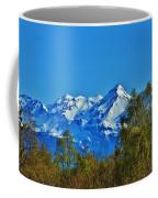 Blue Autumn Sky Coffee Mug