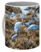 Seeing Blue At The Beach Coffee Mug by Karen Zuk Rosenblatt