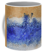 Blue Beach Bubbles Coffee Mug