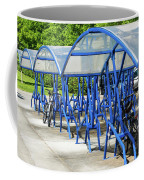 Blue Bicycle Berth Coffee Mug