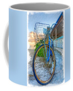 Blue Bike Coffee Mug