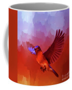 Blue Bird 01  Coffee Mug