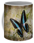 Blue Black Butterfly Dreams Coffee Mug
