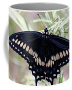 Blue Black Swallowtail Coffee Mug