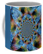 Blue Bling Coffee Mug