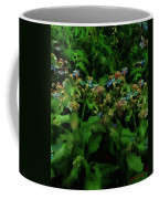 Blue Blossoms By Moonlight Coffee Mug