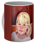 Blue Blue Eyes Coffee Mug