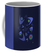 Blue Boomerangs Coffee Mug