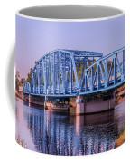 Blue Bridge Georgia Florida Line Coffee Mug
