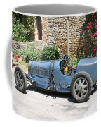 Blue Bugatti Oldtimer Coffee Mug