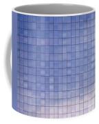 Blue Building Facade Coffee Mug by Yali Shi