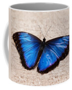 Blue Buttterfly Coffee Mug