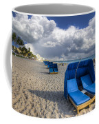 Blue Cabana Coffee Mug