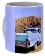 Blue Cadillac Coffee Mug