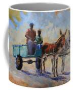 Blue Cart Coffee Mug