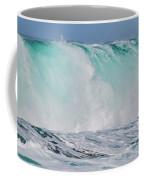 Blue Cascade   Hawaiian Wave Coffee Mug