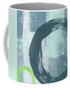 Blue Circles 2- Art By Linda Woods Coffee Mug