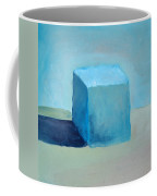 Blue Cube Still Life Coffee Mug
