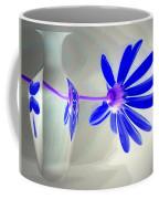 Blue Daisy Delight Coffee Mug
