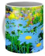 Blue Daisy Coffee Mug