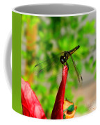 Blue Dasher Damselfly Coffee Mug