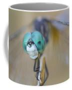 Blue Dasher Dragonfly #1 Coffee Mug
