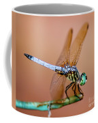 Blue Dasher Dragonfly Coffee Mug