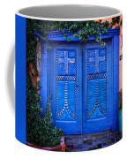 Blue Door In Old Town Coffee Mug