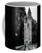 Blue Door Tower Coffee Mug