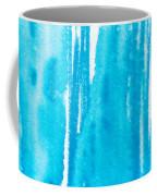 Blue Drip Coffee Mug