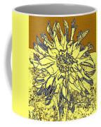 Blue-edged Dahlia Coffee Mug