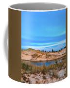 Blue Evening In Ludington State Park Coffee Mug