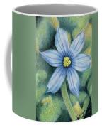 Blue Eyed Grass - 1 Coffee Mug